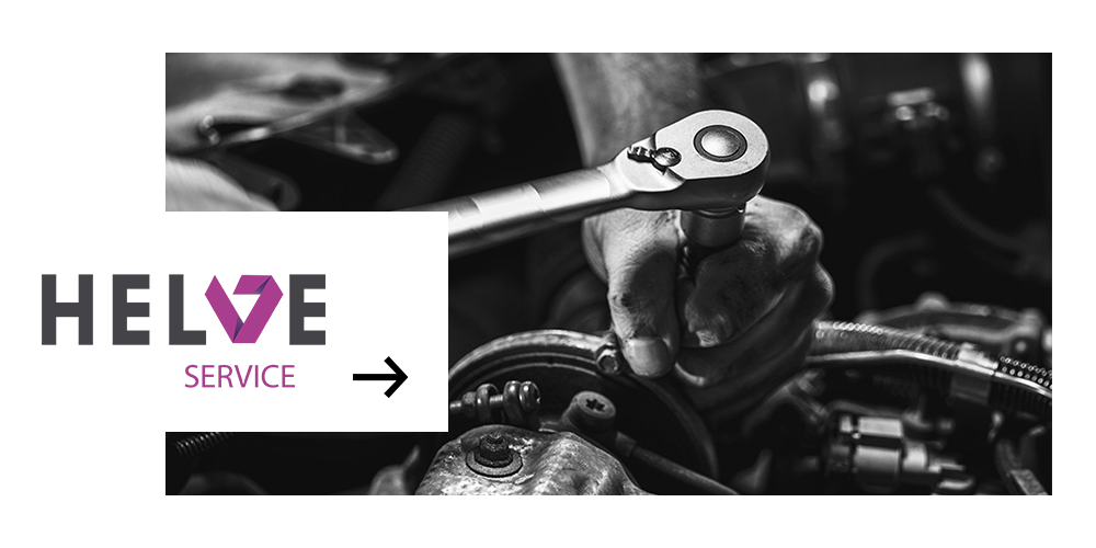 HELVE SERVICE - evaluation, repair and maintenance of equipment.